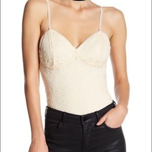 Nordstrom/Free Press Lace Bodysuit